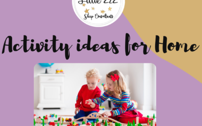 5 easy activity ideas for home